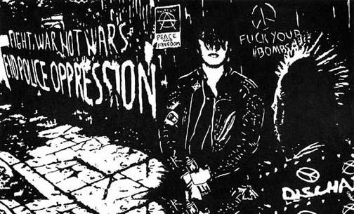 le punk anarchiste de crass zones subversives